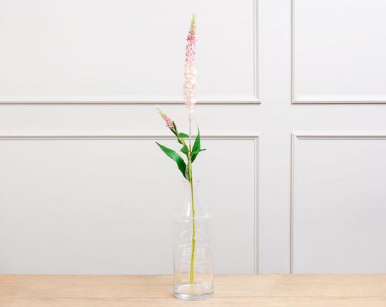 Dekoratif Yapay Çiçek - Açık Pembe Adaçayı Çiçeği