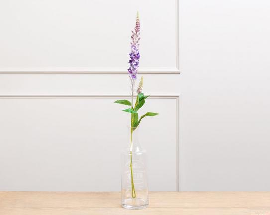 Dekoratif Yapay Çiçek - Mor Adaçayı Çiçeği