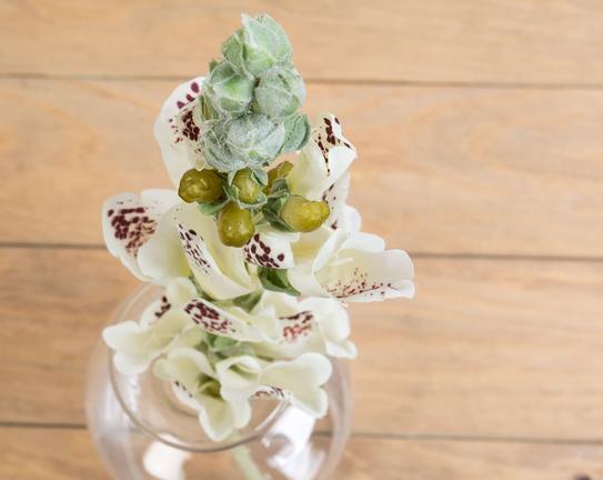 Dekoratif Yapay Çiçek Yüksük Otu Çiçeği 40cm