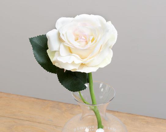 Dekoratif Yapay Çiçek Bal Gülü 30cm
