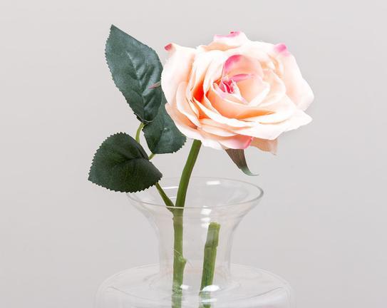 Dekoratif Yapay Çiçek Bal Gülü 75cm
