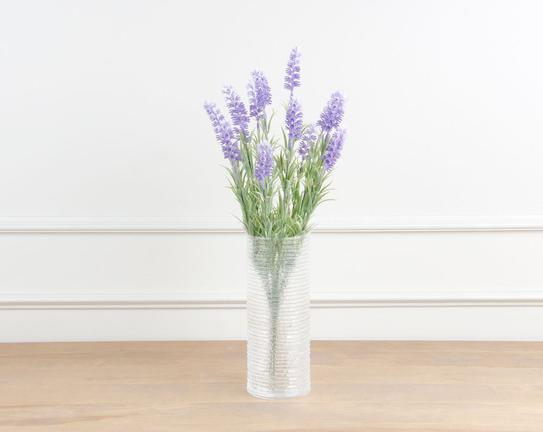 Dekoratif Yapay Çiçek Demet Lavanta Çiçeği 45cm