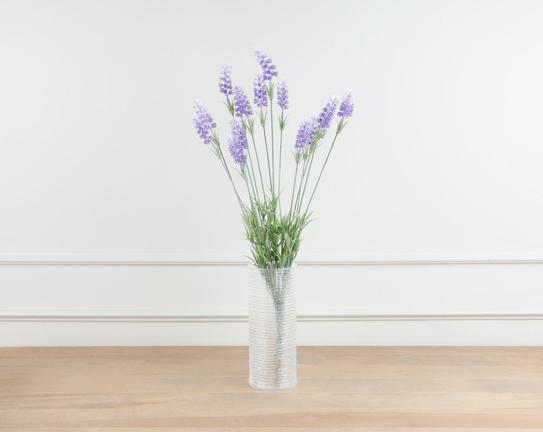 Dekoratif Yapay Çiçek Demet Lavanta Çiçeği 62cm