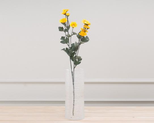 Dekoratif Yapay Çiçek Demet Sarı Papatya 47cm