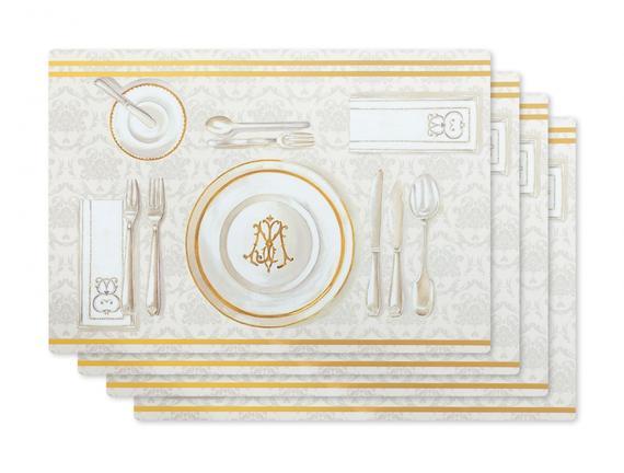 Dinner Time 4'lü Amerikan Servis - 29x42 cm