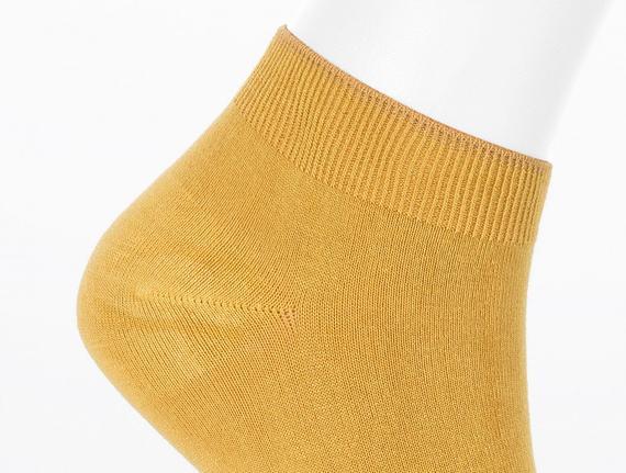 Kadın Patik Çorap - Hardal