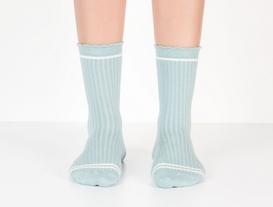 Derby Kadın Soket Çorap - Mint Yeşil