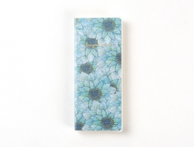 Mavi Çiçekli Defter