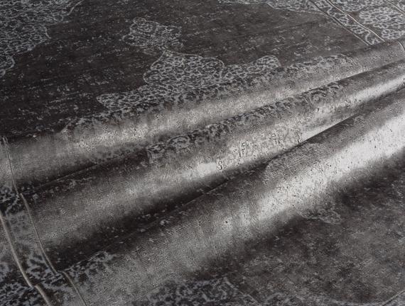 Kadife Halı Gri 120x180cm