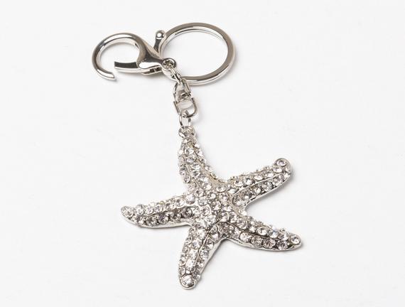 Denizyıldızı Figürlü Anahtarlık