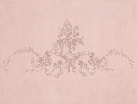 Çiçek Desen Baskılı Hurç Pudra 52X28X21cm