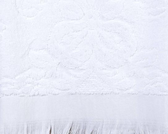 Favor Jakarlı Havlu Beyaz 50x76cm