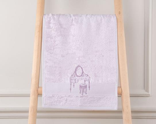 Claral Nakışlı El Havlusu 30x46cm
