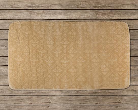 Banyo Halısı Desen 2 80x140cm - TOPRAK