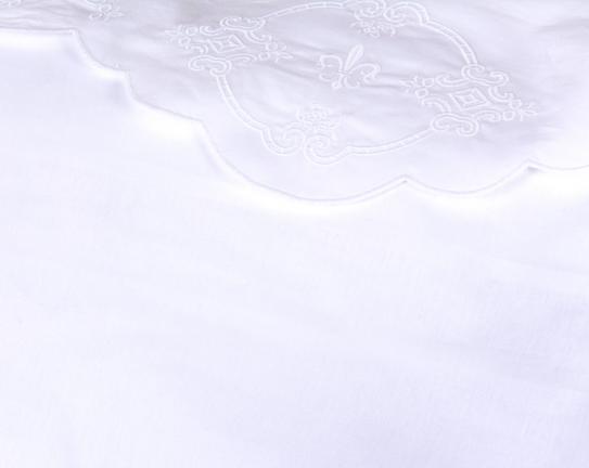 Kırlent Kılıfı - Beyaz - 40x60 cm
