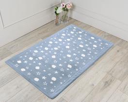 Fleece Banyo Halısı Indigo 70x110cm