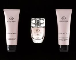 RÉPERTOIRE Kadın Parfüm Seti Vücut Sütü 75 ml + Eau de Parfum 50 ml + Duş Jeli 75 ml Angie Secrète