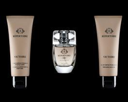 RÉPERTOIRE Kadın Parfüm Seti Vücut Sütü 75 ml + Eau de Parfum 50 ml + Duş Jeli 75 ml Victoire