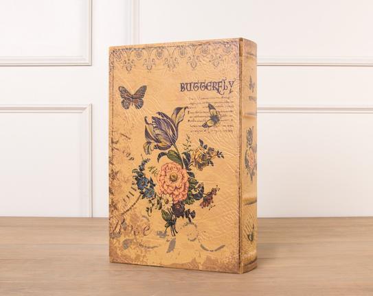 Butterfly Ahşap Kitap Kutusu
