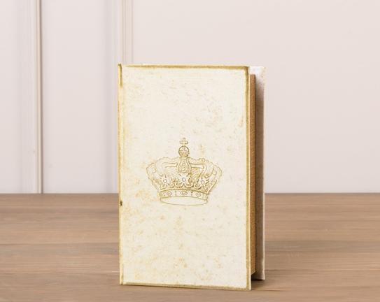 Crown Ahşap Kitap Kutusu