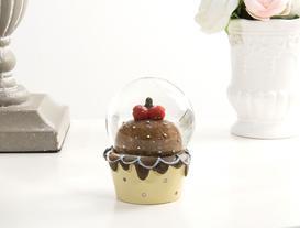 Cam Küre Cupcake