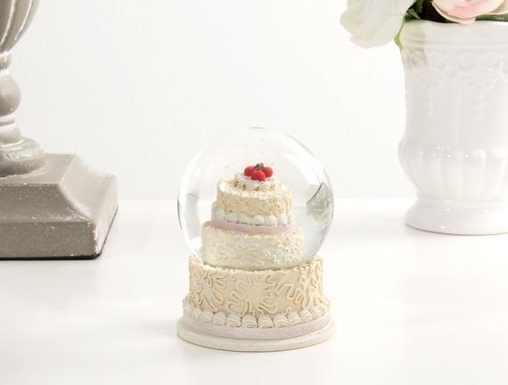 Cam Küre Düğün Pastası - Rose