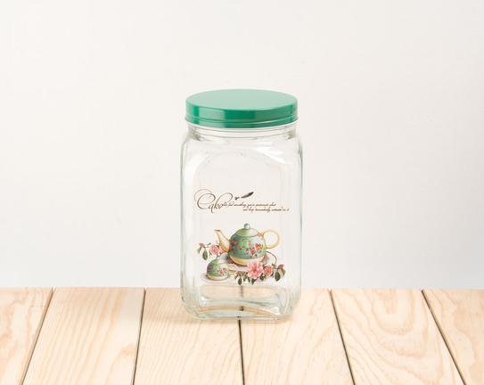 Cam Kavanoz Green Teapot 10x18,5cm