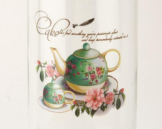 Cam Kavanoz Green Teapot 11x27,5cm