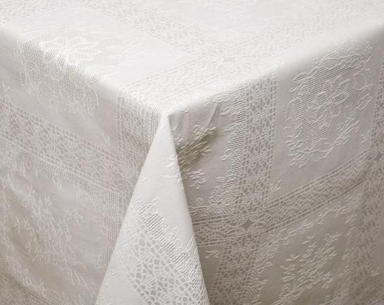Kumaş Kare Masa Örtüsü - Taş