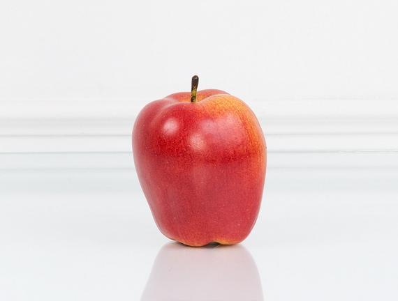 Dekoratif Elma Kırmızı Küçük