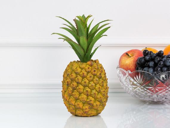 Dekoratif Ananas Sarı