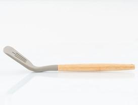Bambu Saplı Oluklu Spatula