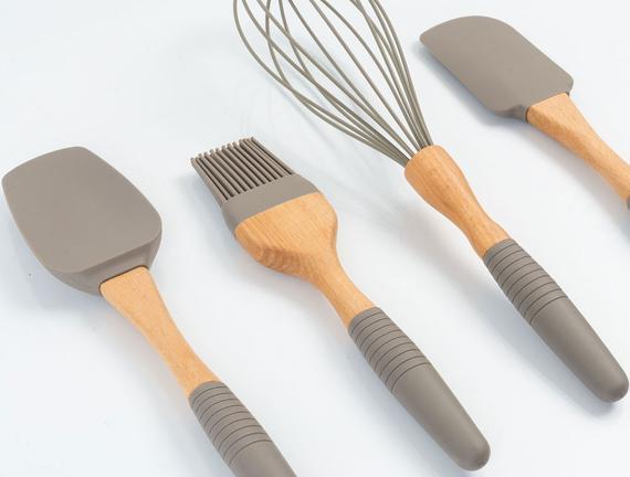 4lü Silikon Pişirme Seti