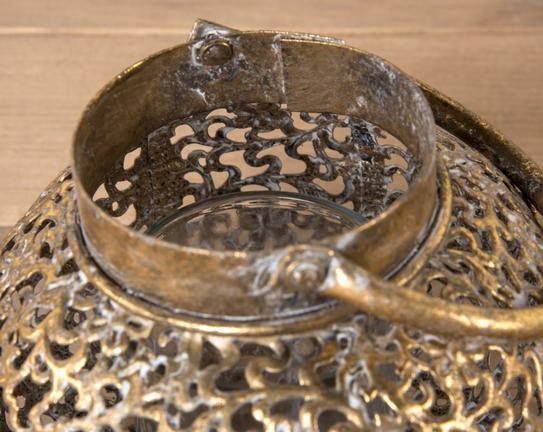 Metal Dekoratif Fener Mumluk