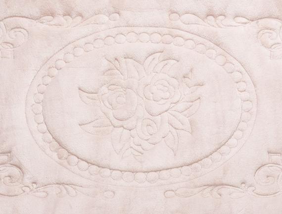 Banyo Paspası Pudra 60x100cm + 50x60cm