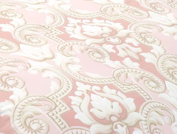 Dior Çift Kişilik Saten Nevresim Takımı - Pudra / Toprak