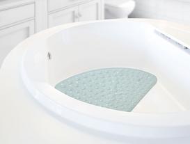 Vakumlu PVC Duş Kaydırmazı 54x54cm - Mint Yeşili