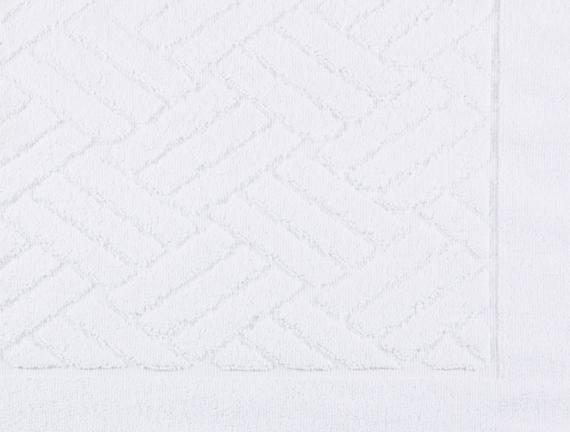 Havlu Paspas - Beyaz