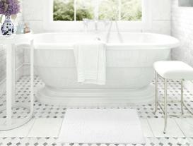 Havlu Paspas 50x80cm - Beyaz
