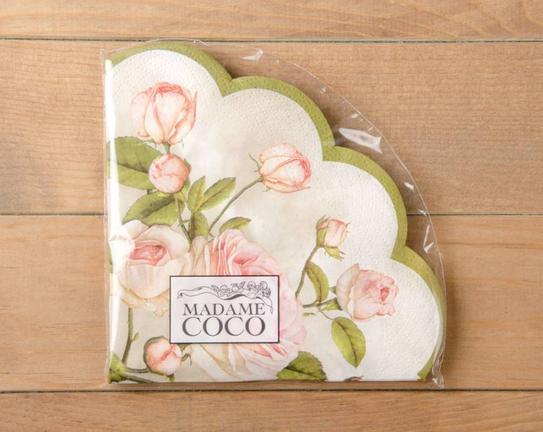 Beauty Roses Lunch Kağıt Peçete 33x33cm