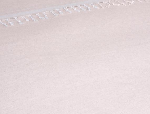 Tropik Çift Kişilik Püsküllü Pike Pudra 210x220cm