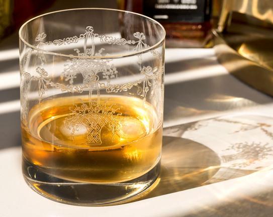 Diana 6lı Platin Viski Bardak Takımı 280ml