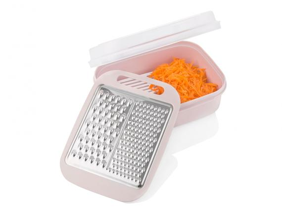 Magic Box Storage Container with Grater - Powder