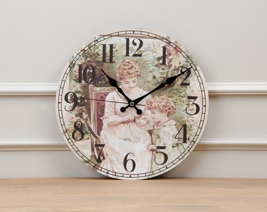 Dekoratif Duvar Saati 32.5cm