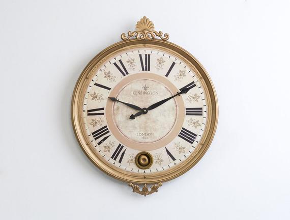 Duvar Saati Ahşap 56x45cm