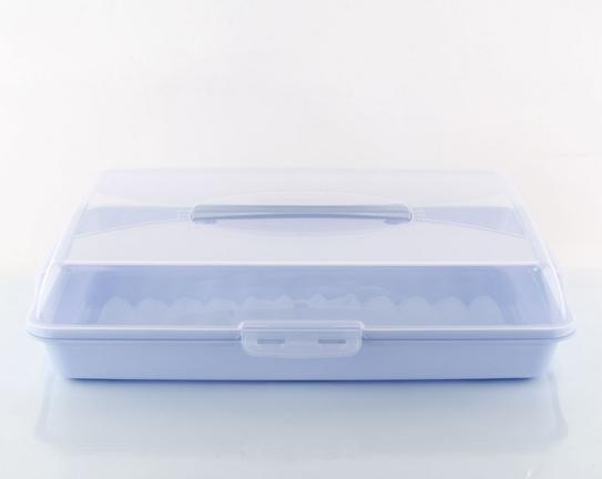 Fırın Ürünleri Taşıma Kutusu - Mavi