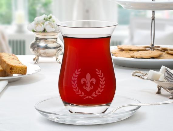 Fleur De Lis 6lı Çay Bardak Takımı 168ml