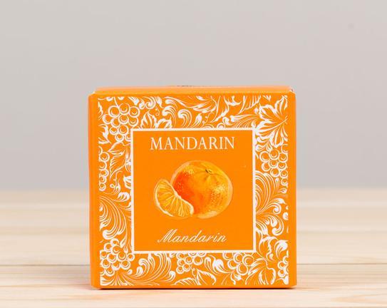 Meyve Serisi Kare Mandalina Aromalı Katı Sabun 50gr