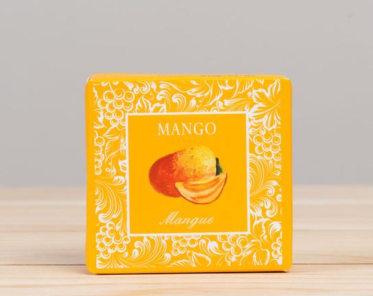 Meyve Serisi Kare Mango Aromalı Katı Sabun 50gr