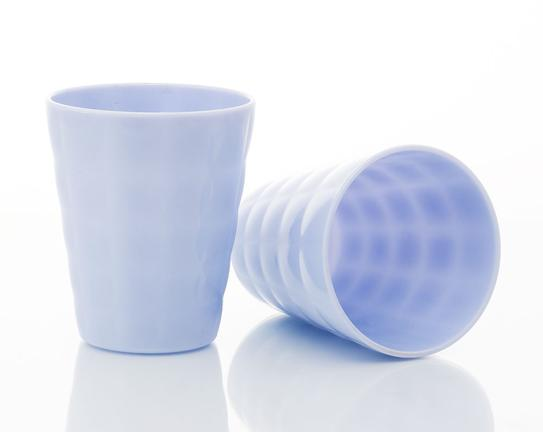 2'li Su Bardağı - Mavi